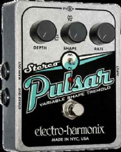 Electro Harmonix Stereo Pulsar Variable Shape Analog Tremolo Guitar / FX Pedal